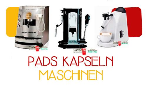 PADS KAPSELN MASCHINEN