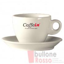 CAPPUCCINO TASSEN MIT UNTERTASSE 220cc 6er SET CAFFEIN