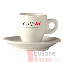 ESPRESSO TASSEN MIT UNTERTASSE 66cc 6er SET CAFFEIN