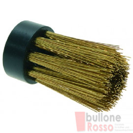 ERSATZBÜRSTE FÜR DUSCHENREINIGUNG  AUS MESSING BRASS BRUSH FOR COFFEE SHOWER SPAZOLLA PULISCJDOCCE IN OTTONE  CONCEPT ART