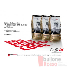 CAFFEIN ESPRESSO BAR BLEND 1 Kg BOHNEN KAFFEE CAFFEIN ESPRESSO BAR BLEND 1 Kg COFFEE BEANS CAFFEIN ESPRESSO BAR BLEND 1 Kg CAFFÉ IN GRANI