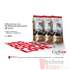 CAFFEIN PREMIUM BAR BLEND 1 Kg BOHNEN KAFFEE CAFFEIN PREMIUM BAR BLEND 1 Kg COFFEE BEANS CAFFEIN PREMIUM BAR BLEND 1 Kg CAFFE IN GRANI
