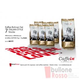 CAFFEIN ITALIAN STYLE BOHNEN KAFFEE 1 Kg CAFFEIN ITALIAN STYLE COFFEE BEANS 1 Kg CAFFEIN ITALIAN STYLE CAFFÈ IN GRANI 1 Kg