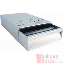 KAFFEESATZSCHUBLADE CASSETTO BATTIFONDI KNOCK BOX 250 x 375 x 85mm