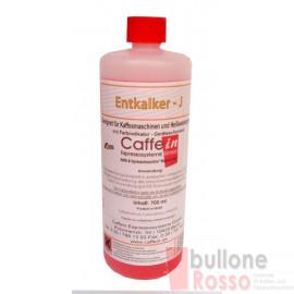 ENTKALKER J-ROSA AUF SULFAMINSÄUREBASIS MIT FARBINDIKATOR 700ml CAFFEIN DESCALER for coffee machines DECALCIFANTE