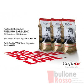 CAFFEIN PREMIUM BAR BLEND BOHNEN KAFFEE COFFEE BEANS CAFFÈ IN GRANI